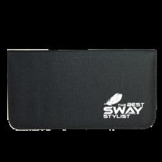 Чехол SWAY STYLIST для 2 ножниц + аксессуаров с карманом й на молнии